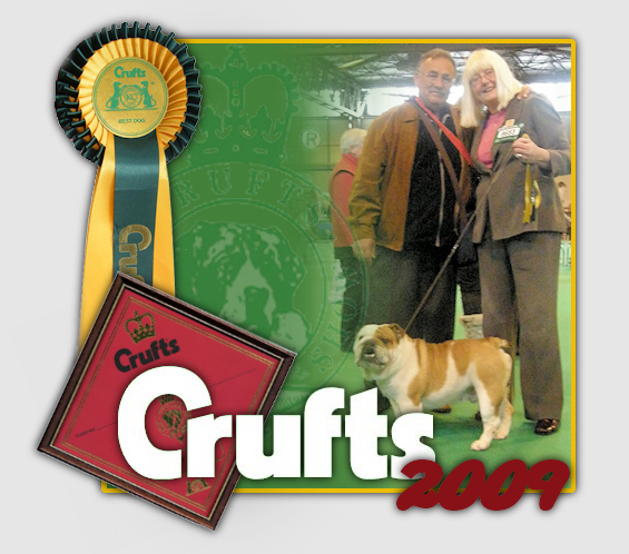 Crufts 2009 Bulldog Ingles Canchas Mahan